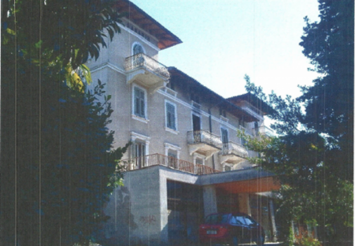 Hotel on the second line to the sea in Opatija suburb