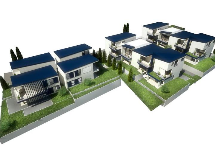 Project with ready building permit and communal fees paid in Lovrecica