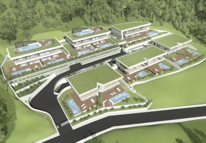 Project of modern villas construction in Opatija