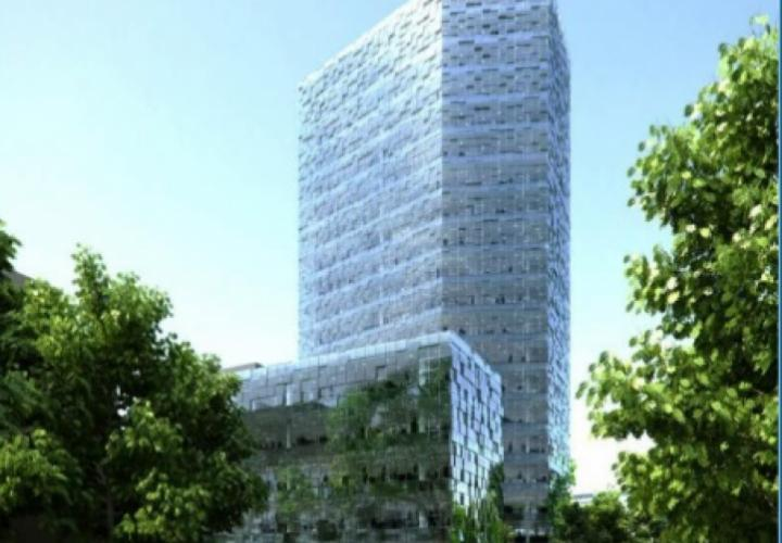 Super investment project of business center in Zagreb on Miramarska street