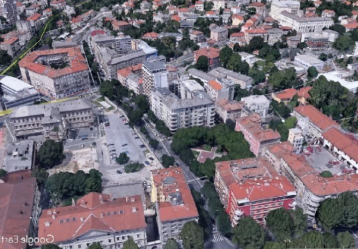 Project of modern hotel in the centre of Rijeka