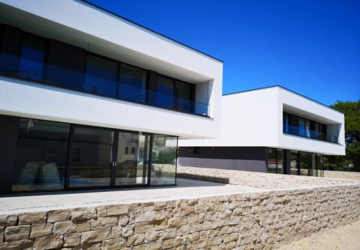 New modern futuristic villa for sale in Banjol on Rab island