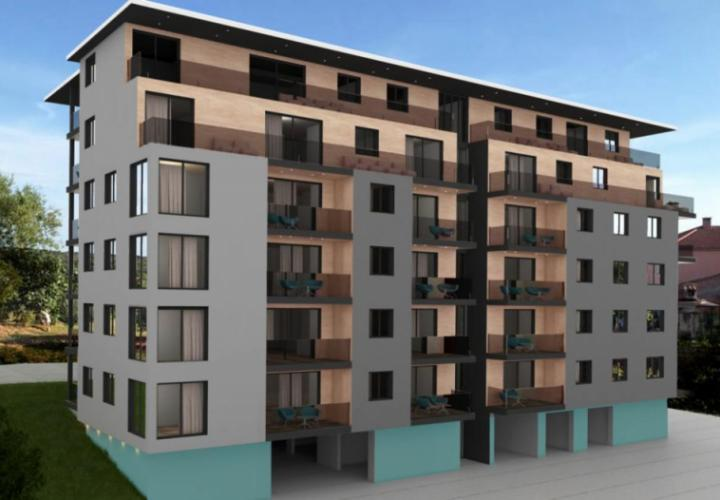 New luxury complex in Verudela in Pula on Monte Paradiso street