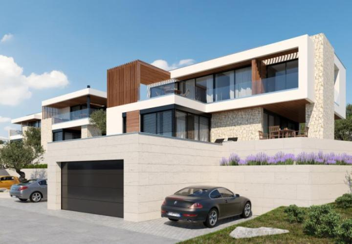Modern 5 star villa with swimming pool within the closed community in Crikvenica