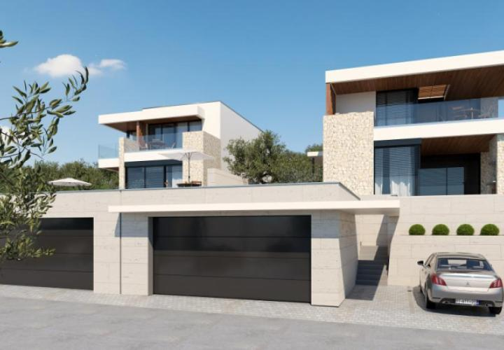 Fantastic modern villa with swimming pool in Crikvenica within gated 5 star domain