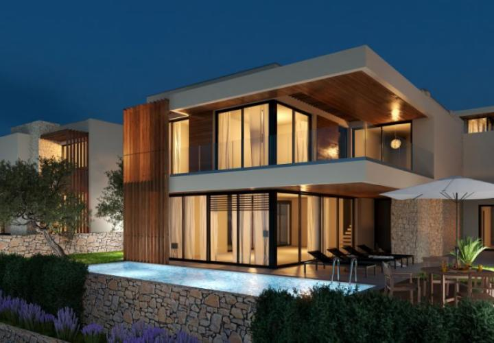 New villa with swimming pool within 5 star luxury complex in Crikvenica
