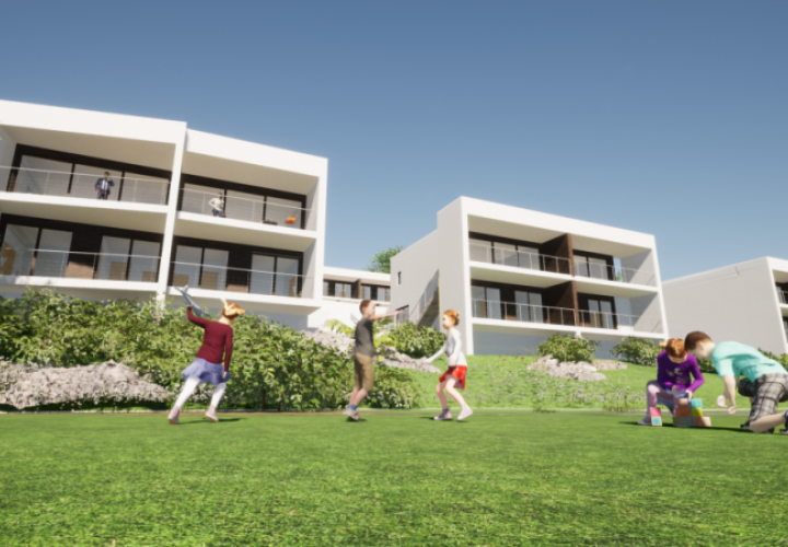 Project of villas construction in Trsat over Rijeka