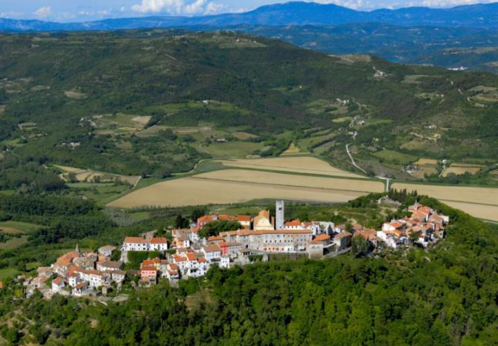 Huge land plot for sale in Livade area in Motovun valley meant for residential construction