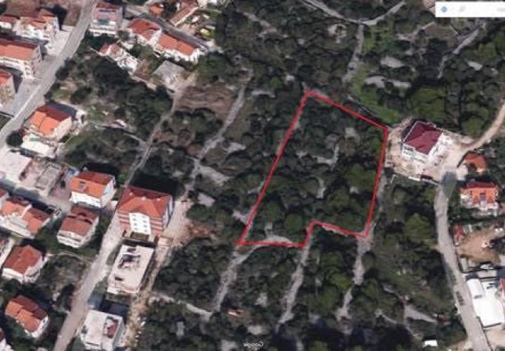 Large building land for sale on Ciovo, 3200 sq.m.