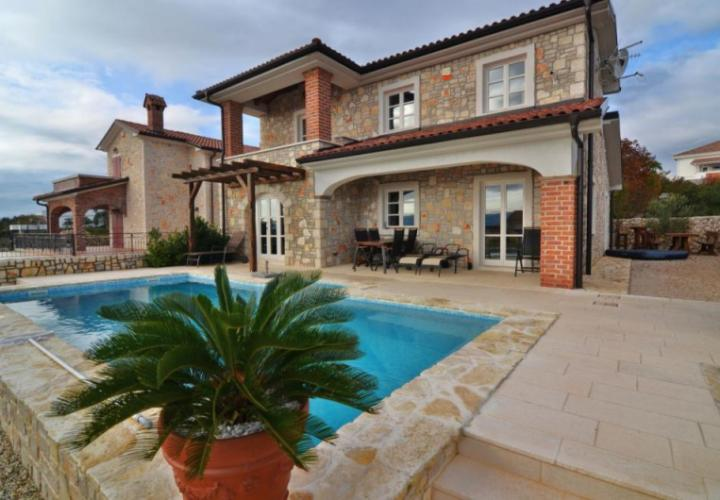 Traditional stone villa for sale in Linardici, Croatia, Krk island