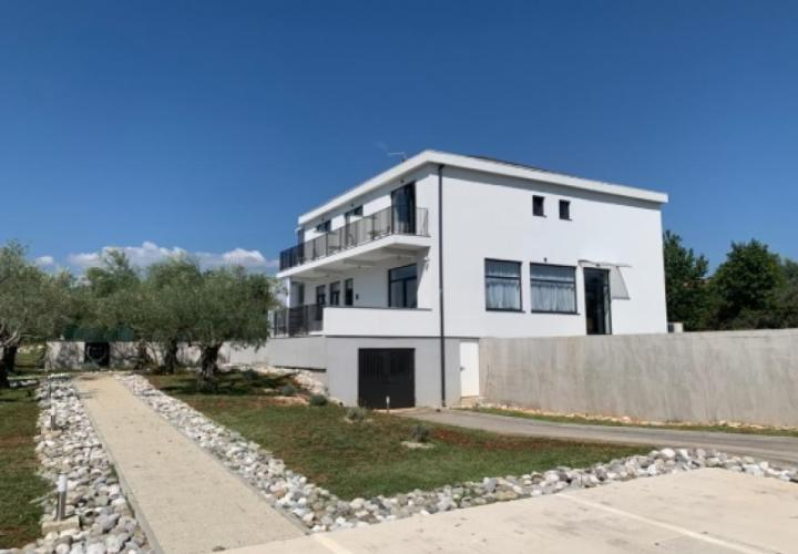 Fantastic estate for sale in Buje area - new villa with pool and 0,5 ha of land - great investment potential, low price