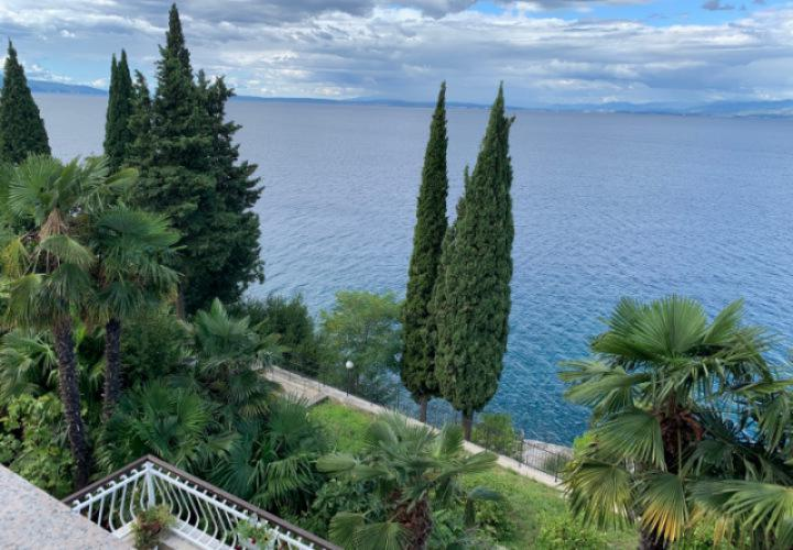 Unique offer of fantastic seafront villa on the sea in Opatija with beautiful views