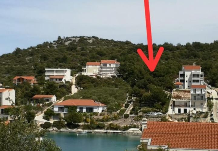 Two highly attractive land plots for sale in Rogoznica area just 30 meters from the sea