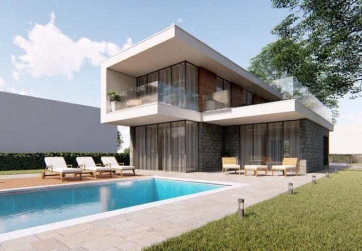 New modern villas first line to the sea in Novigrad area