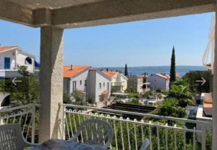 Lovely apartment with 2 bedrooms in Selce, sea view