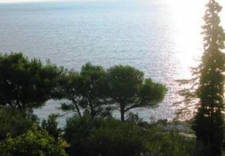 Waterfront property in Sibenik area of Primosten, right by the sea