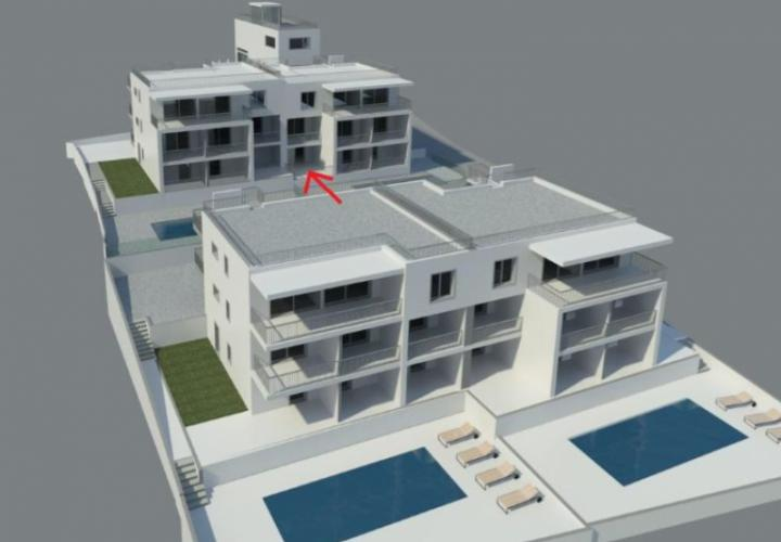 Apartment for sale in a Ciovo residence under construction