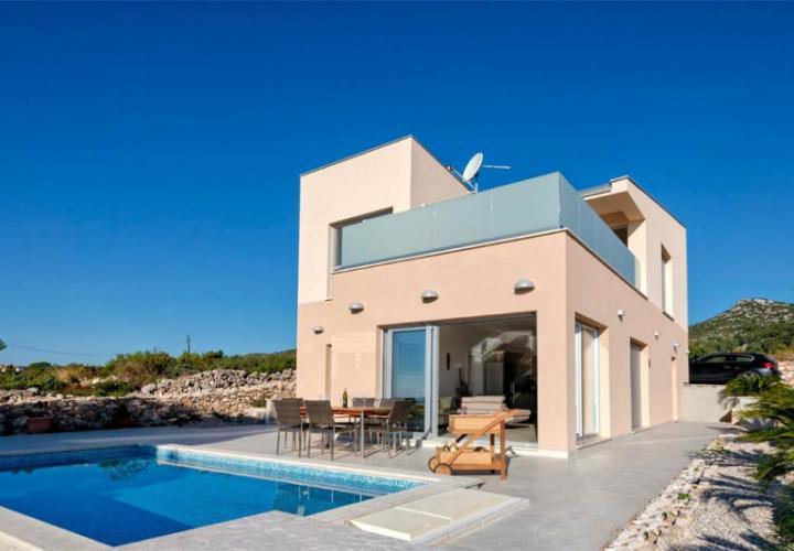 Avant-garde modern villa with pool on Hvar island - most popular island in Croatia!