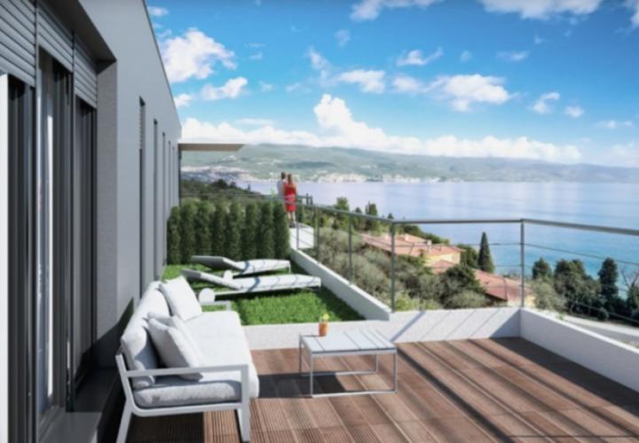 Kantrida, new apartments in Opatija