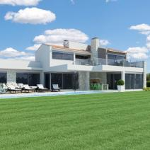 New modern villa with a pool and sea view near Porec - pic 3