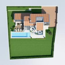 New modern villa with a pool and sea view near Porec - pic 4