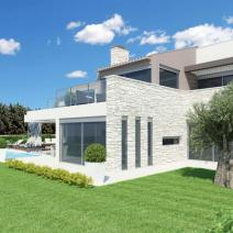 New modern villa with a pool and sea view near Porec - pic 5