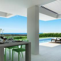 New modern villa with a pool and sea view near Porec - pic 8