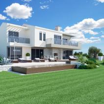 Excellent new villa with a pool and sea view, Porec - pic 1