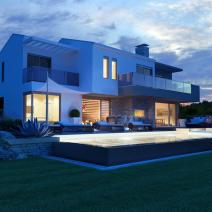 Excellent new villa with a pool and sea view, Porec - pic 5