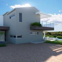 New modern villa with a pool and sea view near Porec - pic 2