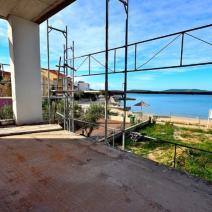 Beachfront new modern villa with swimming pool under construction, Sibenik area - pic 1
