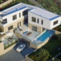 Six modern villas with swimming pools just 220 meters from the sea on Ciovo, Trogir, Dalmatia - pic 2