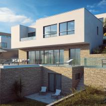 Six modern villas with swimming pools just 220 meters from the sea on Ciovo, Trogir, Dalmatia - pic 3