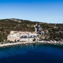 Three modern villas with pools at the construction stage in an amazingly efficient location in the outskirts of Trogir - pic 1