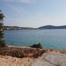 Wonderful plot of land on the FIRST LINE of the sea in the popular Rogoznica, Croatia - pic 3