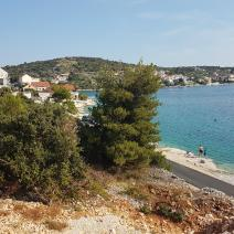 Wonderful plot of land on the FIRST LINE of the sea in the popular Rogoznica, Croatia - pic 4