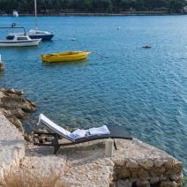 Last villa on the beach in a gated complex of modern attached villas on Ciovo, Trogir - pic 1