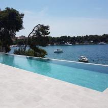 Last villa on the beach in a gated complex of modern attached villas on Ciovo, Trogir - pic 2