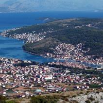 Land plot on Ciovo, Trogir just 20 meters from the beach with perfect sea view - pic 3