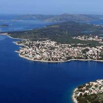 Land plot on Ciovo, Trogir just 20 meters from the beach with perfect sea view - pic 2