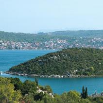 Land plot on Ciovo, Trogir just 20 meters from the beach with perfect sea view - pic 6