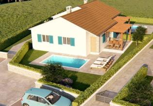 Lovely single-level villa with swimming pool in Novigrad area