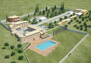 Promising hotel for renovation near Labin