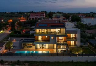 Fascinating new modern villa in Fazana with sea view!