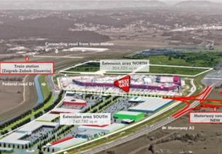 Shopping mall near Zagreb for sale