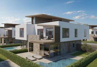 Fantastic new residence in Novigrad offers cheap apartments with pools