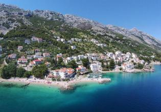 Omis riviera - an unfinished beach front villa in a unique location