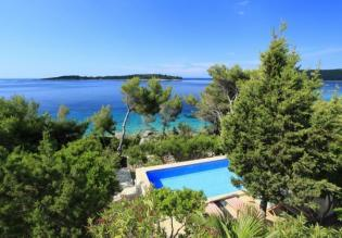 Charming first line property for sale on Korcula