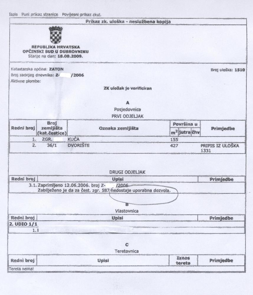 Samples Of Documents Real Estate Croatia Adrionikacom